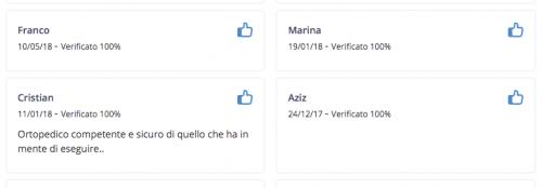 Recensioni Dottor Francesco Verde